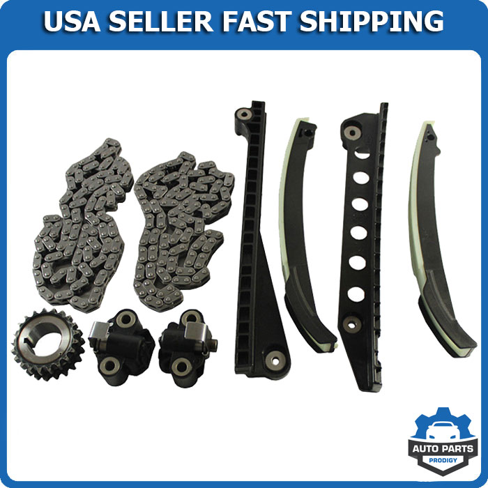 Ford TRITON 3-Valve Timing Chain Kit W Tensioner Guide