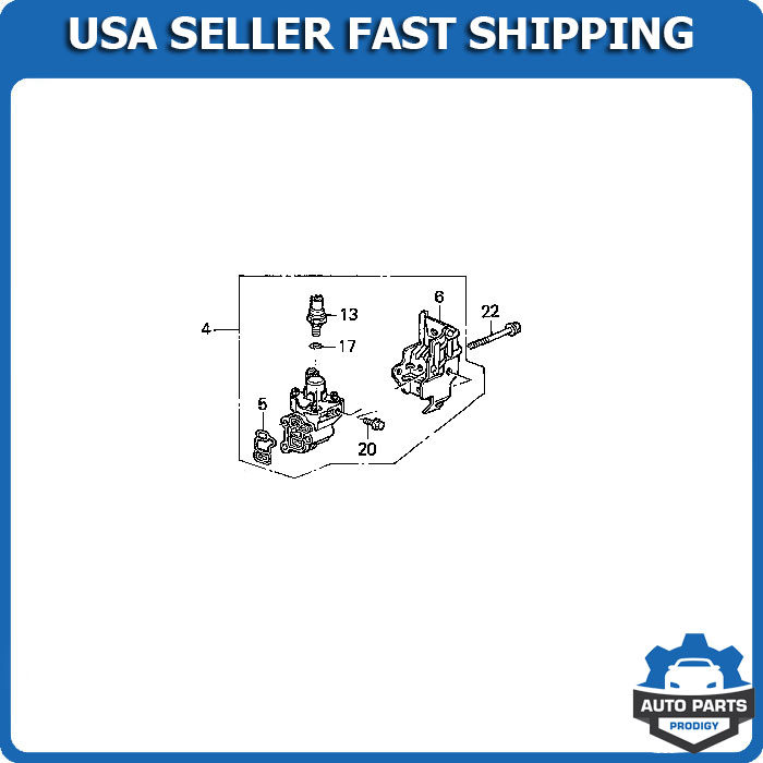 15810RAAA03 5app spool valve vtec solenoid timing oil pressure switch for crv rsx