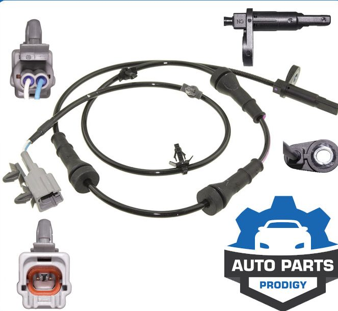 AWD//4WD Only Rear Passenger Side ABS Wheel Speed Sensor for 2009 2010 2011 Nissan Murano