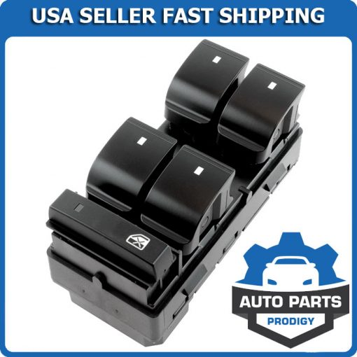 Electric Power Window Master Control Switch for Chevy Silverado GMC Sierra Traverse
