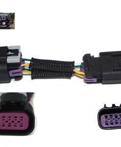 2010-2015 GM Camaro DRL Harness Adapter- Plug and Play Harness + Fog + Halos