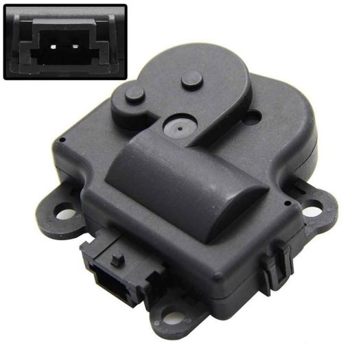 HVAC Heater Temperature Blend Air Door Actuator For Buick Chevy Cadillac Ponitac Replaces 1573517, 1574122, 15844096, 22754988, 52409974, 604-108, 15-74122