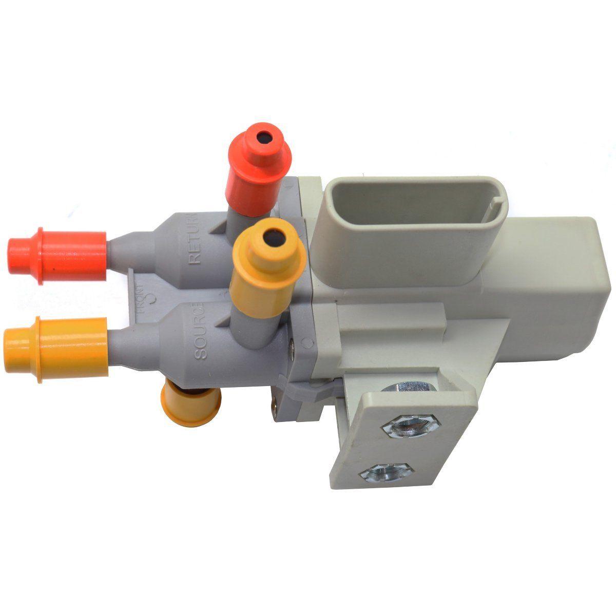Fuel Tank Selector Valve 6 Port For Ford Super Duty Diesel Engine F250 F350 F450