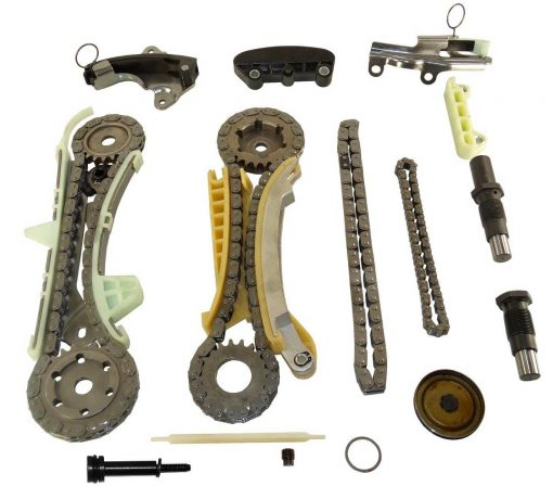 Timing Chain Kit with Chains Tensioners and Guides For Ford Explorer Ranger Mustang Mazda B4000 Mercury Mountaineer 4.0L SOHC VIN Code