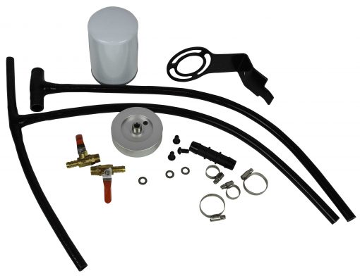 Diesel Coolant Filtration System Filter Kit For 2003-2007 Ford Powerstroke 6.0L No Leaks Heavy Duty New Design with filter