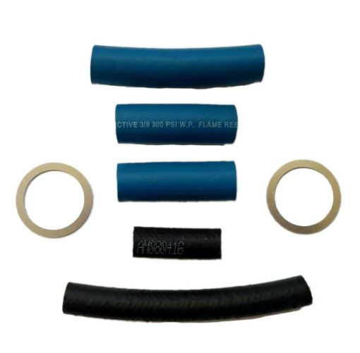 Fuel Filter Lift Pump Hose Lines Washers Kit For 1994-1997 Ford F250 F350 Superduty 7.3L Diesel Powerstroke