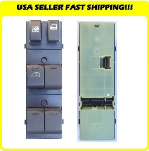 New-Master-Window-Switch-Front-Left-Fits-2007-2012-Nissan-Altima-25L-35L-201369325821