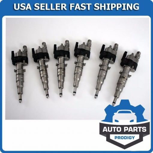 Fuel-Injector-Injectors-Set-6-BMW-135i-335i-535i-550i-650i-740i-X6-N54-Engine-201435793053