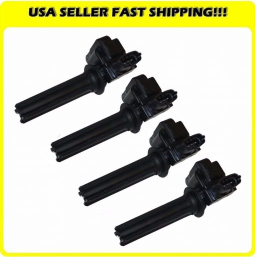 Brand-New-Ignition-Coil-For-Saab-9-3-9-3X-20L-12787707-UF526-UF-526-Set-of-4-191619731497