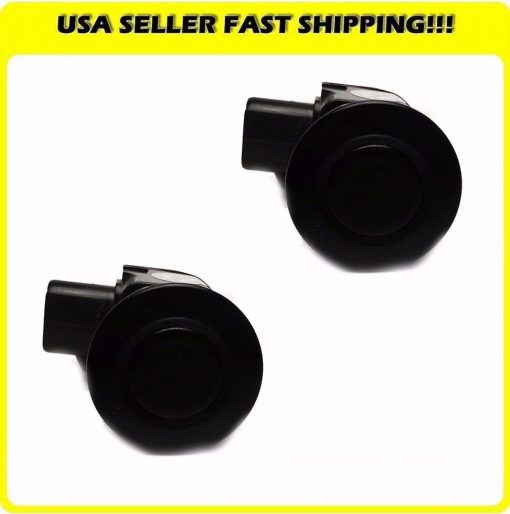 Outer-Ultrasonic-Parking-Sensor-PDC-IS350-GS350-GS430-GS450h-ISF-Black-Pair-New-191646360938